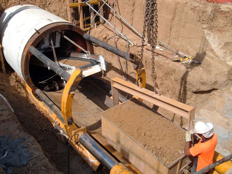 Pipe Jacking Laser Guided Pipe Jacking Jtp Consulting