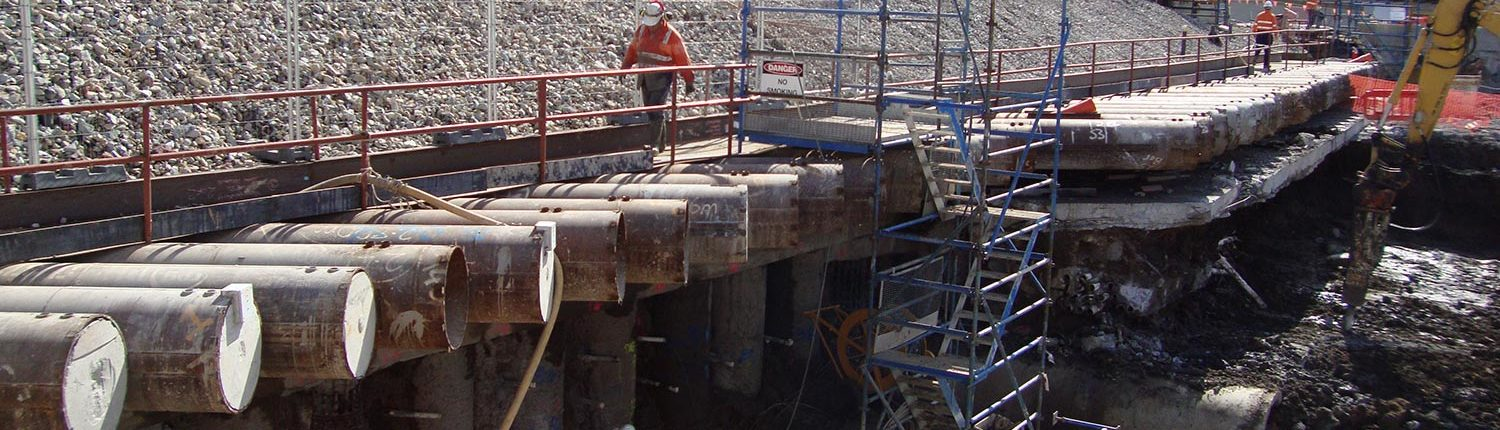 Tunnel Support Canopies - Trenchless Technologies - JTP